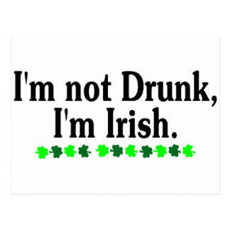 Im Im irlandés no borracho 2 Postales