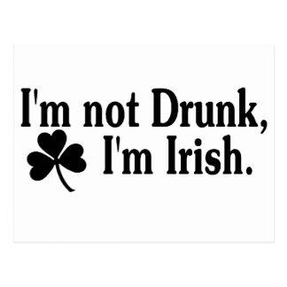 Im Im irlandés no borracho 3 Postales