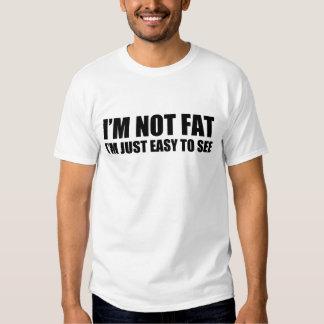 im im no gordo apenas fácil ver 6xl camisas