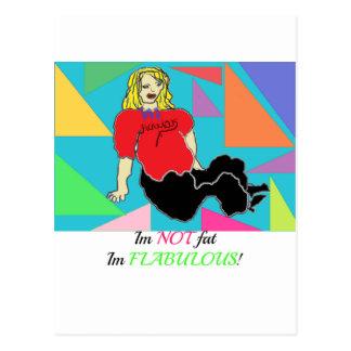 Im im no gordo flabulous postal