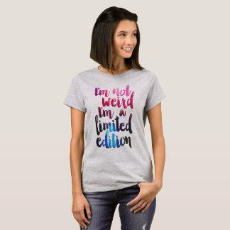 im no extraño soy una camiseta de la cita de la