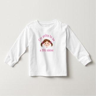 Im que va a ser una hermana grande - chica con el camisas
