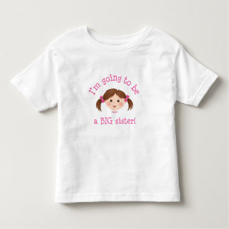 Im que va a ser una hermana grande - chica con el camisetas