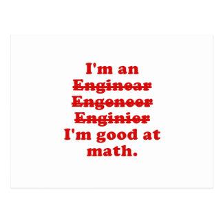 Im un ingeniero postal