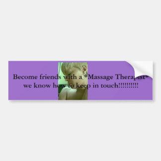 Image128, sienten bien a amigos con un *Massage Th Pegatina Para Coche