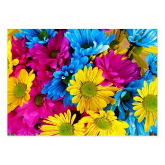 imagem de Flores Tarjetas De Visita Grandes