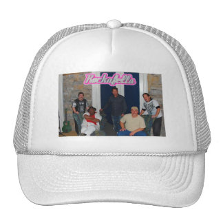 Imagen 2 de la banda de Rockafella, rosada Gorros Bordados