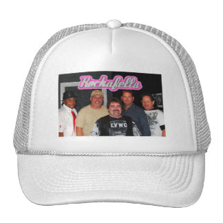Imagen 4, logotipo rosado de la banda de Rockafell Gorros