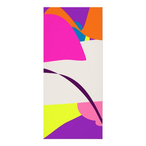 Imagen abstracta colorida tarjetas publicitarias a todo color