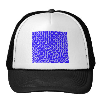 Imagen azul redonda gorro