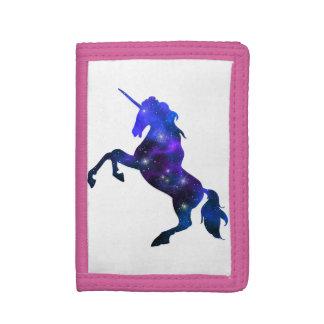 Imagen brillante del unicornio hermoso azul de la
