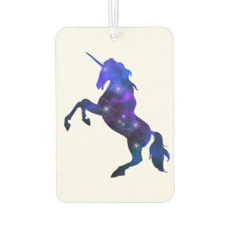 Imagen brillante del unicornio hermoso azul de la ambientador