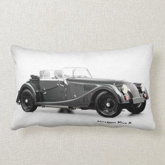 Imagen británica del coche para la almohada lumbar