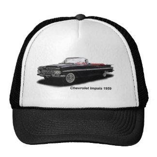 Imagen clásica del coche para el gorra del