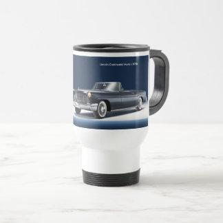 Imagen clásica del coche para la taza blanca