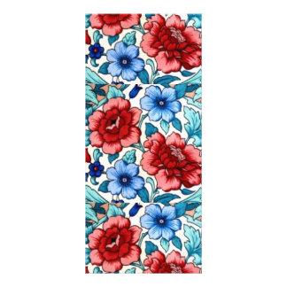 imagen con las flores plantilla de lona