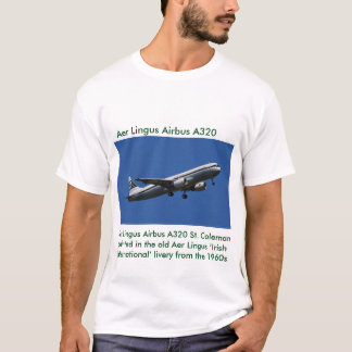 Imagen de Aer Lingus Airbus A320 para la camiseta