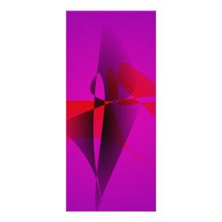 Imagen de Digitaces abstracta púrpura espontánea Tarjeta Publicitaria