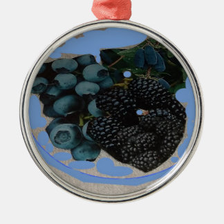 imagen de grapes.JPG para la decoración Adorno Navideño Redondo De Metal