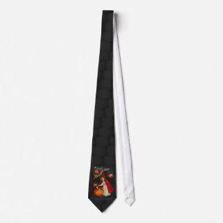 Imagen de Halloween del vintage en un lazo Corbatas Personalizadas