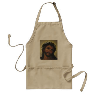 IMAGEN DE JESÚS QUE COCINA APARREL DELANTAL
