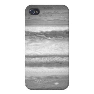 Imagen de Júpiter del Solo-Filtro (F437) iPhone 4/4S Funda