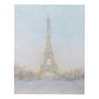 Imagen de la acuarela el | de Eiffel Towe Cuadro