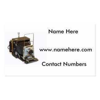 Imagen de la cámara para la tarjeta de visita
