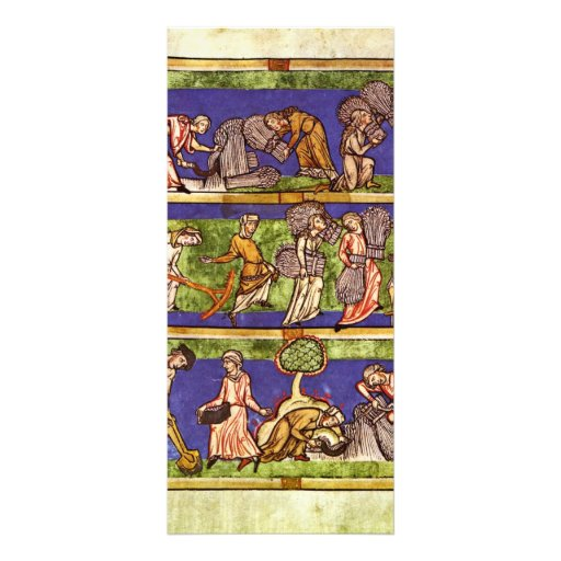 Imagen de la cosecha por el DES de Mittelrheinisch Plantillas De Lonas