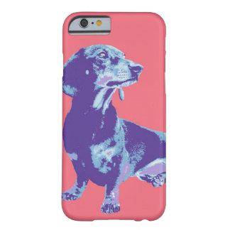 Imagen de la diversión de mascotas en una variedad funda de iPhone 6 barely there