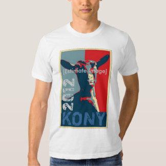 Imagen de la estimación de la camisa de KONY