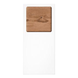 Imagen de la madera de Brown Lona Publicitaria