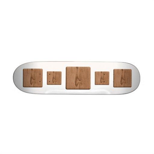 Imagen de la madera de Brown Tablas De Patinar