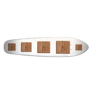Imagen de la madera de Brown Patín Personalizado