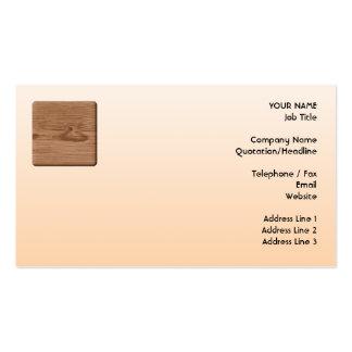 Imagen de la madera de Brown Plantillas De Tarjetas De Visita