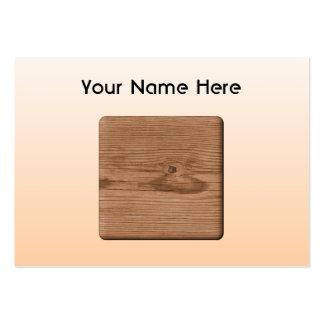 Imagen de la madera de Brown Plantilla De Tarjeta De Negocio