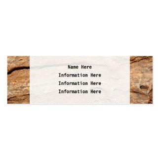 Imagen de la madera fosilizada plantilla de tarjeta personal