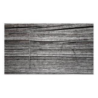 Imagen de la madera que astilla vieja tarjetas de visita
