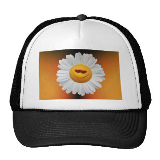 imagen de la margarita gorras
