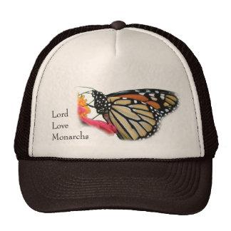 Imagen de la mariposa de monarcas de señor Love Gorras De Camionero