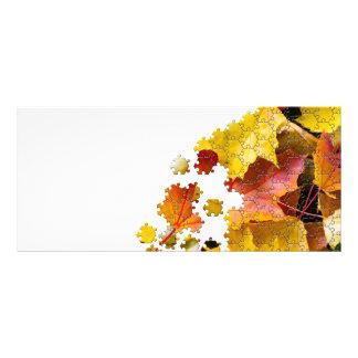 Imagen de la rompecabezas-mirada de las hojas de folleto publicitario 10 x 22,8 cm