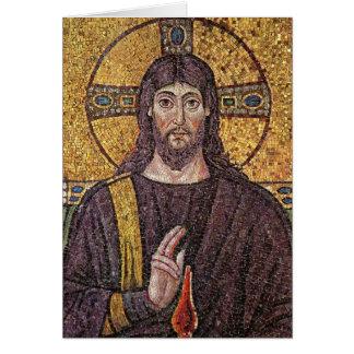 Imagen de la tarjeta en blanco religiosa del