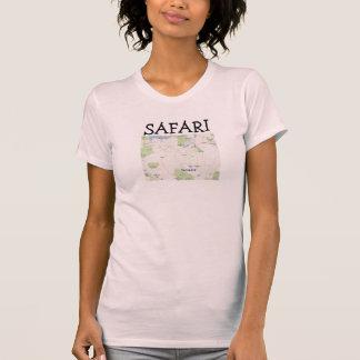 Imagen de Tanzania del safari Camisetas