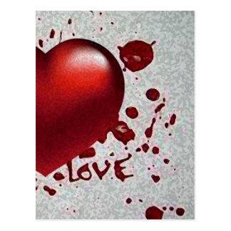 Imagen del calor del amor solamente postal