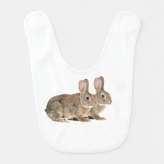 Imagen del conejo para el babero del bebé