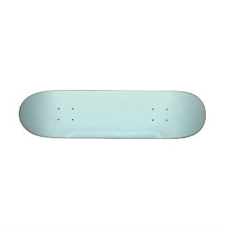 Imagen del cuero ligero de la turquesa tabla de skate
