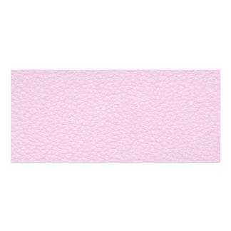 Imagen del cuero rosa claro tarjeta publicitaria