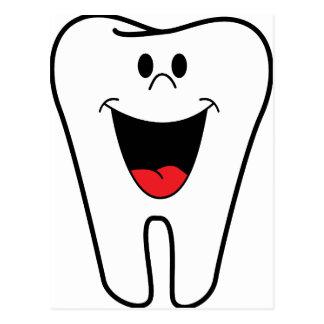Imagen del dentista postal