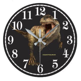 Imagen del dinosaurio para el reloj de pared