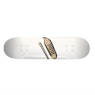 Imagen del diseño del instrumento de percusión del tablas de patinar